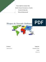 Bloques de Mercado Multinacionales