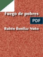 Fuego de pobres - Rubén Bonifaz Nuño