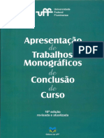 Formatação Para Monografias, Dissertações e Teses UFF 2012