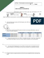 6º_teste de MatemáTica n.º3 Parte 2
