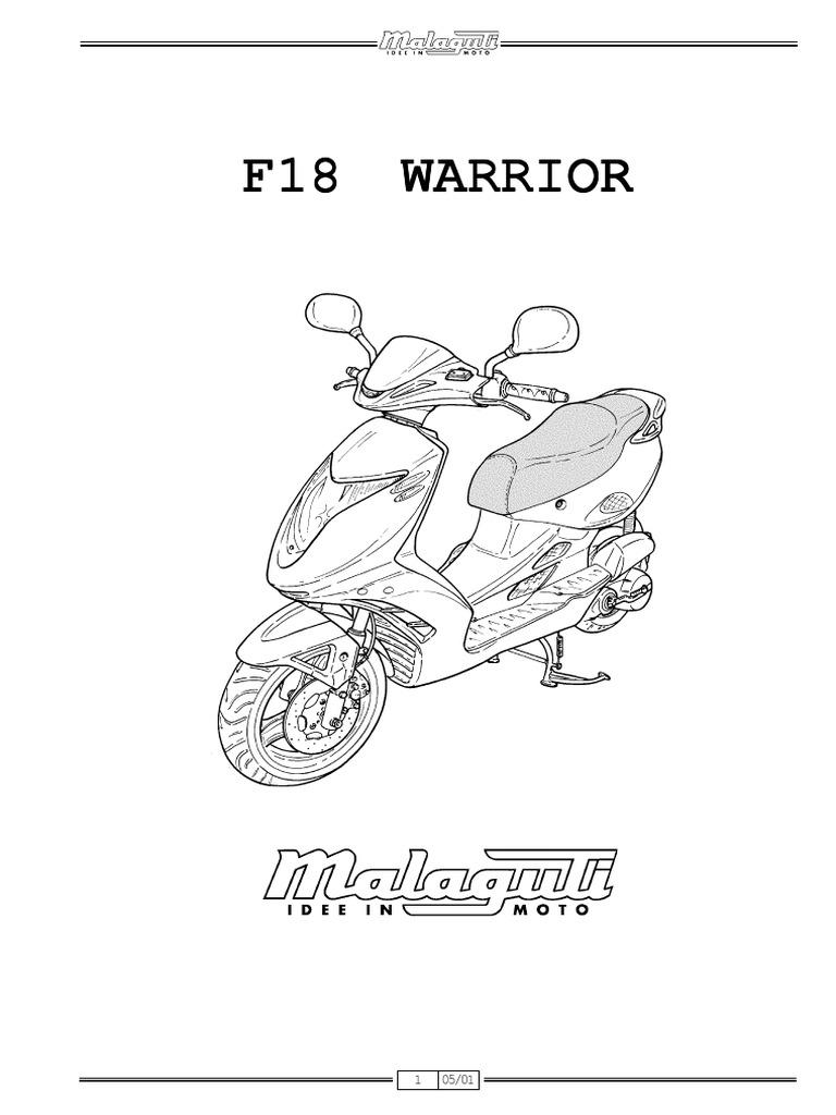 Malaguti F 18 Warrior Manual de Reparatie Www