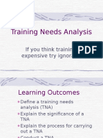 2 -Training Needs Analysis