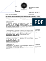 Observation Sheet IGC-III
