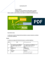 Guía del profesor N°5