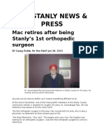 the stanly news-mac retirement