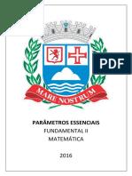 Parâmetros Essenciais - 2016 - Fundamental II - Matemática
