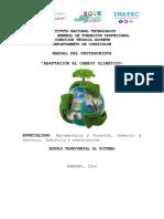 Manual Adaptación Al Cambio Climático