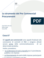 Pre Commercial Procurement