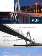 COWIs International Bridge Projects