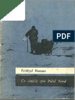 Fridtjof Nansen - Cu Saniile Spre Polul Nord Optimizat