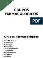 GRUPOS FARMACOLOGICOS
