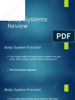 body systems review