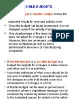 Week 3 - Flexible Budgets