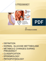 Diabetes in Pregnency