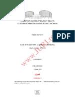 Case of Valentino Acatrinei v. Romania (1)