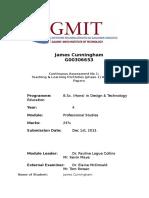 professional code of conduct ca  2  james c
