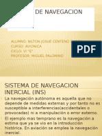 Sistema de Navegacion Inercial(INS)