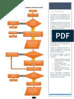 Flujograma Sobre Contratación