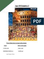 Age of Empires Cheatbook