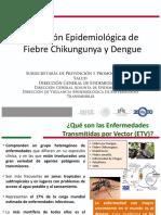 1 Situación Epidemiologica de Fiebre Chikungunya y Dengue