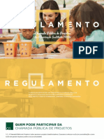 Regulamento Projetos Instituto