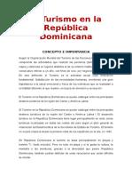 Capitulo 6-El Turismo en La Rep. Dominicana.