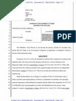 04-10-2016 ECF 231 USA v JASON WOODS - Jason Woods Reply Re Bail Motion