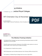 0 - MTI Orientation Day - Welcome Presentation