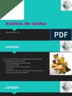 Análisis de Lípidos