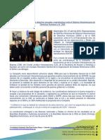 Abogan por reconocimiento de derechos sexuales y reproductivos ante el Sistema Interamericano de Derechos Humanos y la OEA