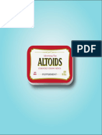 Altoids Media Planning and Strategy