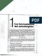 Herramientas Del Metalurgista