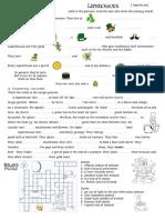 Saint Patrick Worksheet
