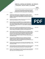 Conjunto Documental Cartas Padrao