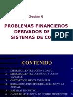 06 02 Problemas Financieros Derivados de Los Sistemas de Costeo
