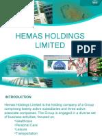 SWOT Analysis for HEMAS HOLDING