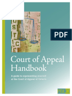 Court Of Appeal Handbook