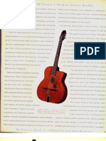 Selmer Guitars, by Francois Charle