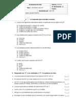 Examenes de Capacitación HACCP