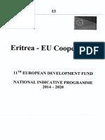 Eritrea-EU NIP 2014-2020