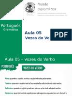 Missão Diplomática - Gramática - Aula 5 - Classes Gramaticais