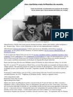 Einstein e Tesla, Dois Dos Cientistas Mais Brilhantes Do Mundo, Viviam Brigando - Galileu _ Ciência