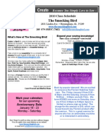 The Smocking Bird Newsletter 2010