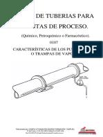 Curso de tuberías para plantas de proceso - 0107 Purgadores de Vapor