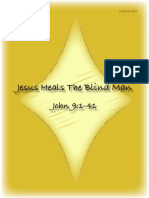 Jesus Heals the Blind Man Story from the Bible