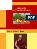 2560 Years Full of Nothing - Buddhism