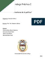 Monografia Derecho Politico