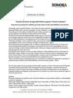 """09/04/16 Presenta Secretario de Seguridad Pública programa """"Escudo Ciudadano"""" -C.041632"""