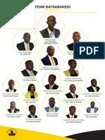 Team Batsabakedi Cabinet