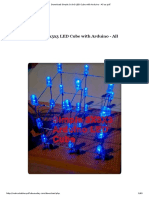 Download Simple 3x3x3 LED Cube With Arduino - All as PDF